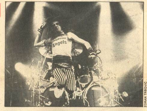 SAXON u Beogradu 1983