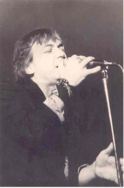 Eric Burdon - Beograd, hala Pionir 06.03.1984_foto