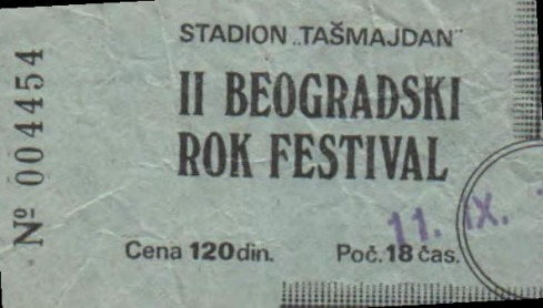 II Beogradski rock Festival - Beograd 11.9.