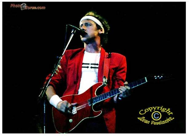 DIRE STRAITS Zagreb 1983 - The first appear in Yugoslavia ...
