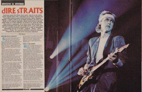 DIRE STRAITS YUGOSLAVIA 1985 a
