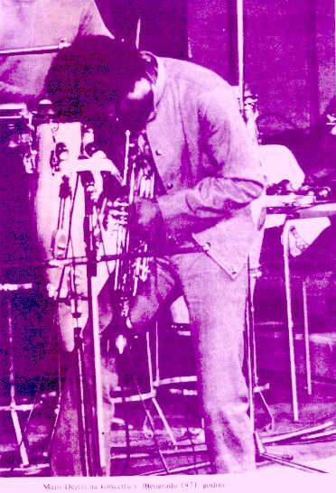 MILES DAVIS u Beogradu 1971