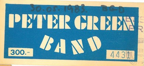PETER GREEN 1983 05 30 Beograd