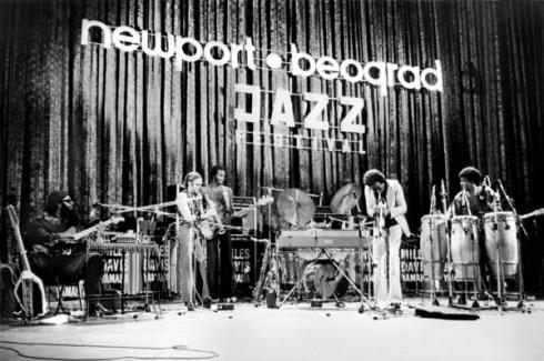 MILES DAVIS newport 1973