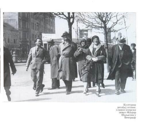 Fjodor Saljapin u Beogradu