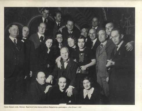 FYODOR SHALYAPIN Beograd 1935