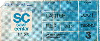 JOHN MAYALL Bg28mar1987 karta