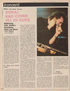STAN WEB ALVIN LEE Bg1982 1