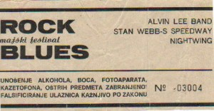 STAN WEB ALVIN LEE Bg1982 5 karta