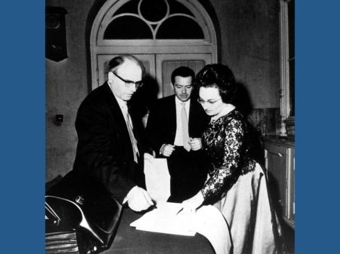 OLIVER MESSIAEN Zagreb 1965 4
