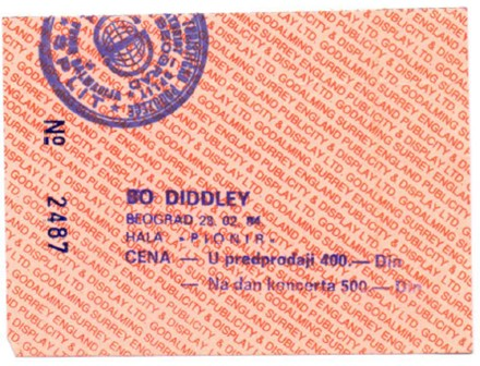 BO DIDLEY Beograd 1984