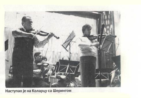 HENRYK SZERYNG Beograd 1977