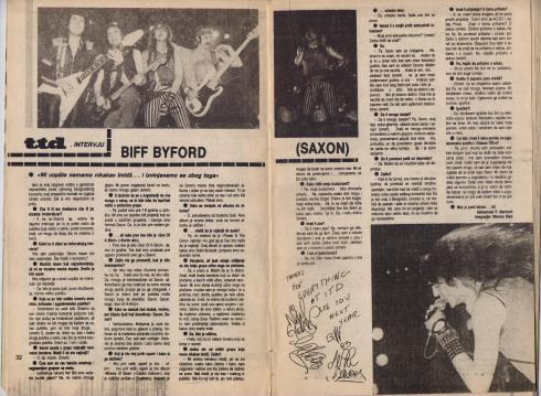 SAXON Beograd 1983