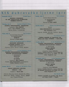 Program DUBROVACKIH LETNJIH IGARA 1968 2