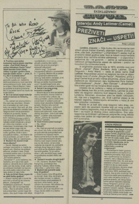 HEAVY METAL FEST Zg 1982 Rock 82 - 24 (11) URIAH HEEP