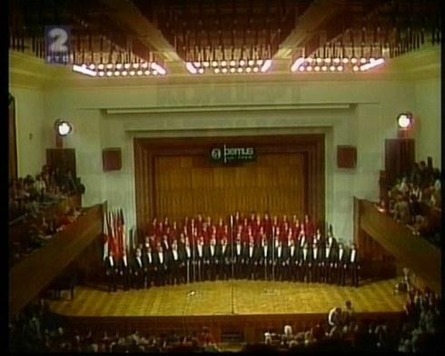 GLINKA choir Beograd 1986 1