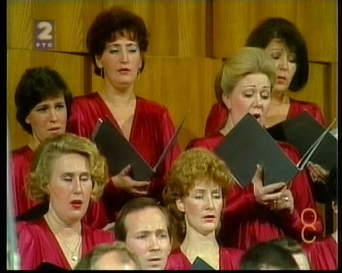 GLINKA choir Beograd 1986 3