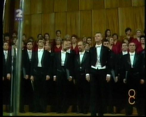 GLINKA choir Beograd 1986 4