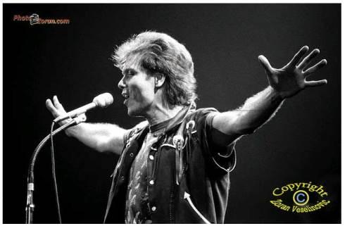 CLIFF RICHARD Beograd 10 nov 1987 Pioneer hal