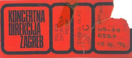 URIAH HEEP 1976 10 08 Beograd