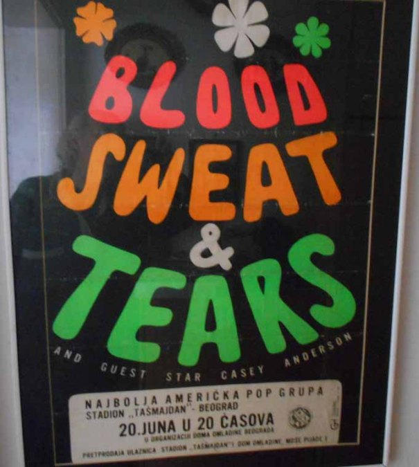 BLOOD SWEAT AND TEARS Beograd