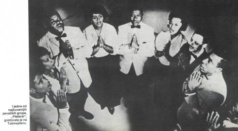 THE PLATTERS u Beogradu SRC Tasmajdan 197_