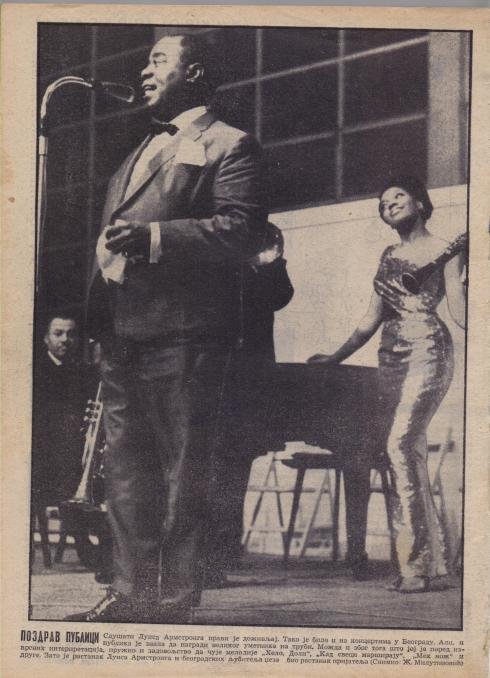 LOUIS ARMSTRONG Beograd 1965 1