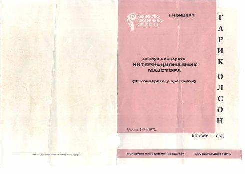 GARRICK OHLSSON Bg 1971 a