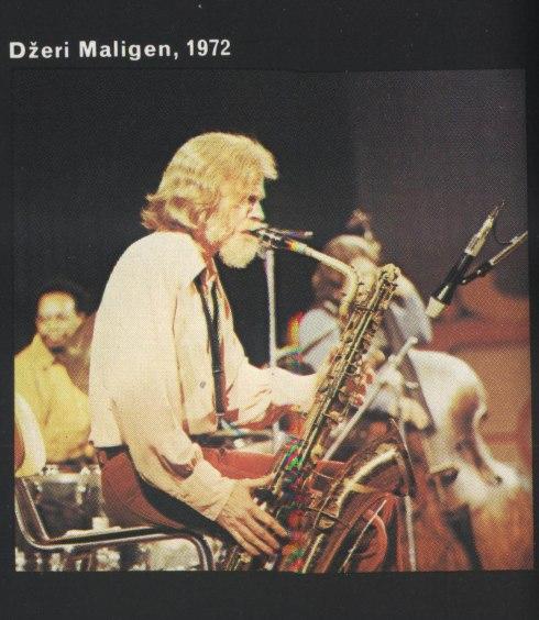 JERRY MULLIGAN Beograd 1972