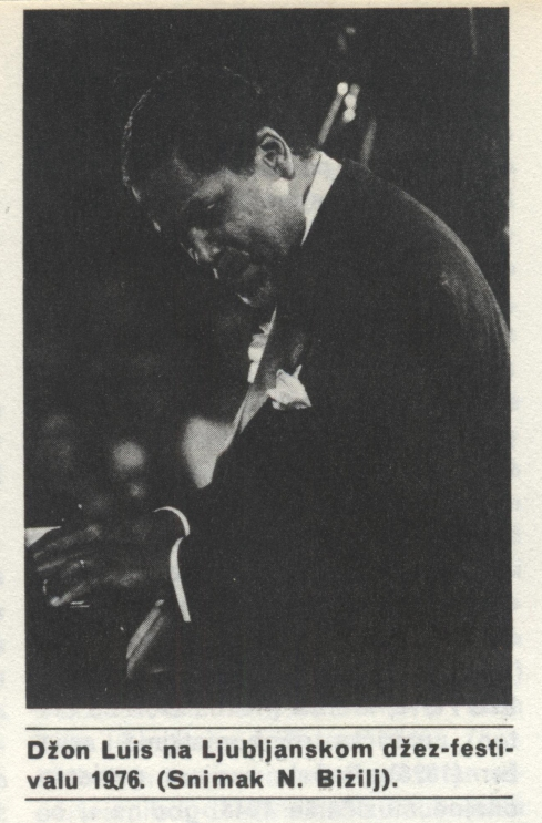 JOHN LEWIS Ljubljana 1976