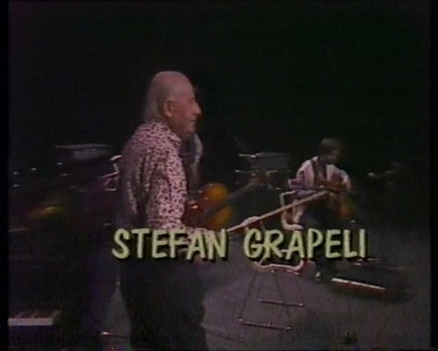 STEPHANNE GRAPELLI Beograd 1987 1