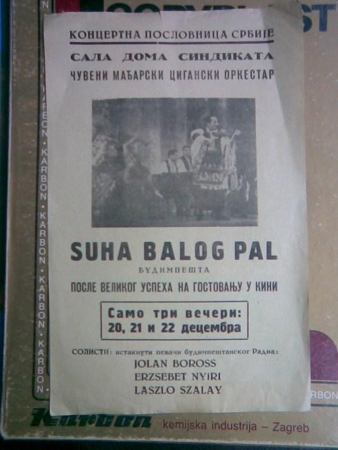 Orch SUHA BALOG PAL u Beogradu 196_
