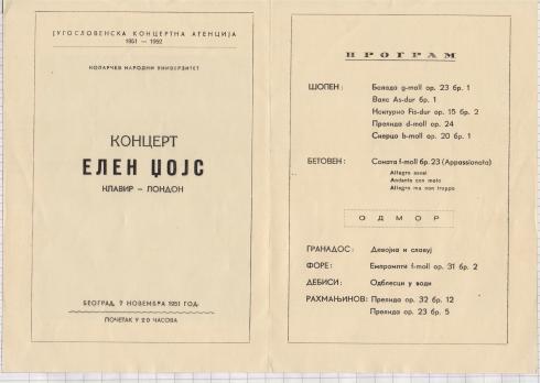 ELLEN JOYCE Beograd 1951 2