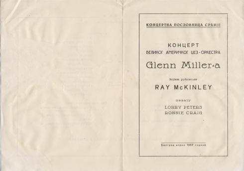 GLENN MILLER Orchestra Beograd 1957 1