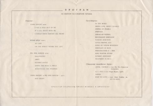 GLENN MILLER Orchestra Beograd 1957 2