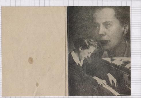 Monique de La Bruchollerie Beograd 1951 1