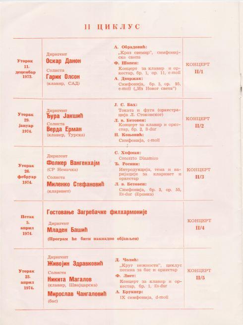 GARRICK OHLSSON Beograd 1973