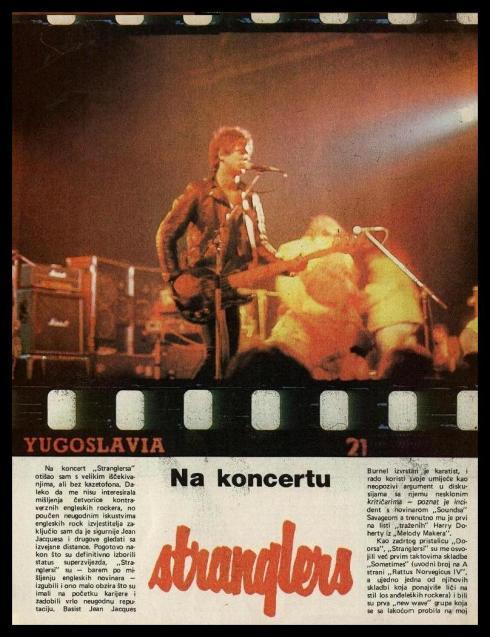 STRANGLERS Ljubljana 1978 1