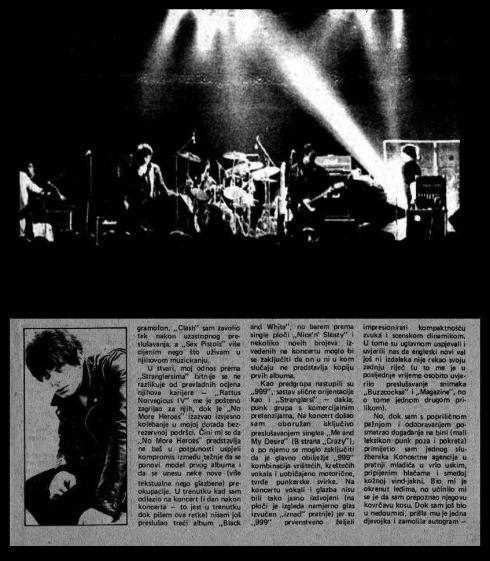STRANGLERS Ljubljana 1978 2