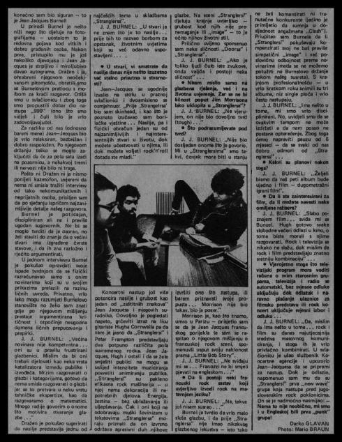 STRANGLERS Ljubljana 1978 3