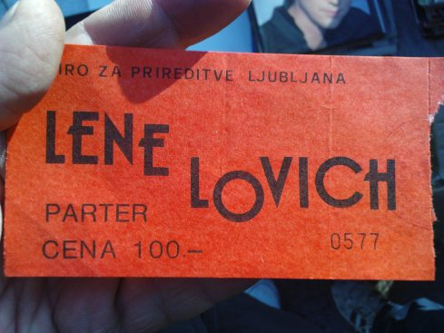 LENE LOVICH Nis 24 april 1980 1