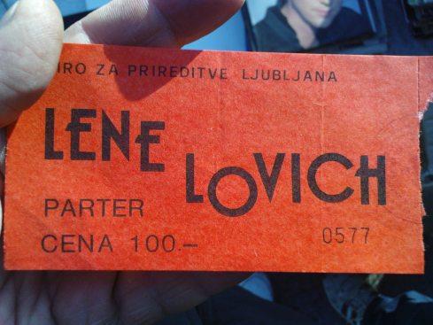 LENE LOVICH Nis 24 april 1980 1