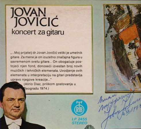 ALIRIO DIAZ Beograd 1974