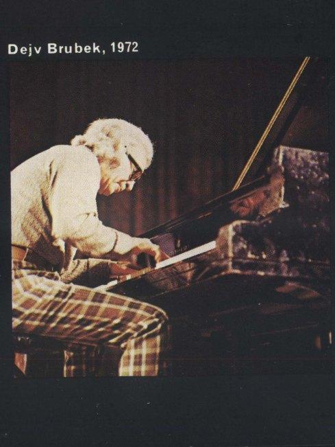 DAVE BRUBECK Beograd 1972