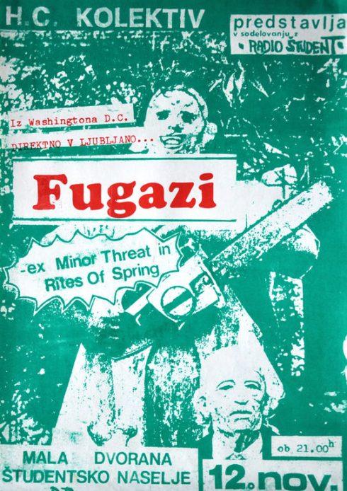 FUGAZI Menza, Ljubljana, YUGOSLAVIA 1988b