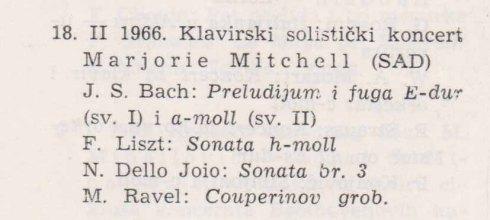MARJORIE MITCHELL Begrad 1966