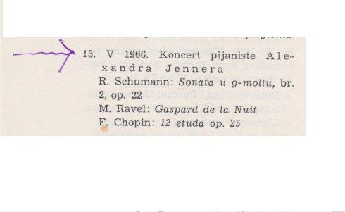 ALEXANDER JENNER Ljubljana 1966